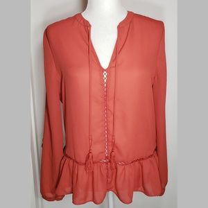 a.n.a. EUC Gorgeous Formal or Casual Blouse,